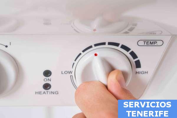 termos electricos horizontales Tenerife